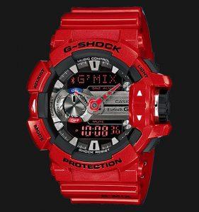 Jamtangan.com - Casio G-Shock GBA-400-4ADR GMIX Bluetooth Smart